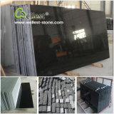 Schwarze/graue Granit-Fußboden-Wand-Treppenhaus-Platte-Fliese