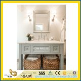 Home及びHotel Bathroomのための自然なPolished Marble Vanity Tops