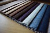 Umweltfreundliches Plaid-Musterseersucker-Velour-Gewebe für Sofa