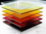 Fabricante acrílico transparente puro e melhor da alta qualidade da fonte da folha