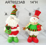 """"""" albero di Natale dell'ornamento del pupazzo di neve di H 6 Decoration-2asst"""