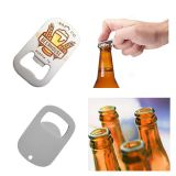 Stainless Steel Bottle Opener with Sublimation Blank