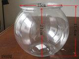 水晶びん、クリスタルグラスのびん、香水瓶