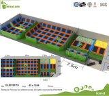 Sicherheits-Kind-kommerzieller grosser preiswerter Innentrampoline-Park