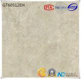 azulejo de suelo gris claro de cerámica de la absorción 1-3% del material de construcción 600X600 (GT60512E) con ISO9001 y ISO14000
