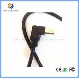 Rechtwinkliger 90 Grad Mikro-Aufladeeinheits-Synchronisierungs-Daten-Kabel USB-2.0