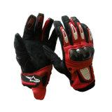 Горячие продавая участвуя в гонке перчатки мотоцикла перчаток кожаный (MAG42)