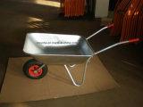 Bandeja e Wheelbarrow galvanizados populares do frame (Wb5204)