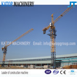 China-Marken-hydraulischer Herumdrehenmarinekran, 6t Turmkran