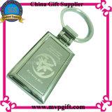 Metallo in bianco Keychain con la carica libera della muffa