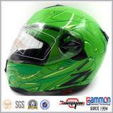 Kippen herauf Motorrad-Sturzhelm mit doppelten Masken (LP508)