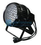 IP 65 de Waterproo de la luz de la arandela de la pared de la IGUALDAD 64/LED del zoom LED de 12*15W RGBWA 5in1