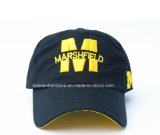 Casquette de baseball personnalisée bon marché promotionnelle de coton brodée par logo de produit d'OEM d'usine