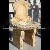 Lavabo di pietra di marmo dell'oro del deserto del lavabo del granito Mbm-001