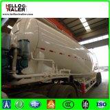 silo de cemento a granel de 45cbm 50ton para la pista del carro