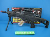 BO plástica hace fuego sobre el juguete con Flashlight&Infrared&Shake (1040009)