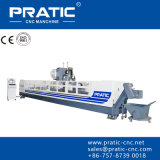 Fresadora de los equipos del CNC que trabaja a máquina con Pratic Pyb