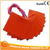 Calefator feito-à-medida do silicone do fabricante de China dos cobertores de aquecimento do silicone