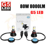 PANNOCCHIA H4 H7 9005 del faro di G5 4000lm LED indicatore luminoso dell'automobile dei 9006 LED per l'automobile