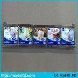 Advertizing acrilico LED Menu Light Box Signboard per Restaurant
