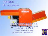Máquina de estaca Rags das telas do cortador da capacidade elevada e tipo da máquina de estaca da fibra