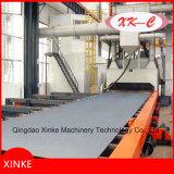 Q69 Роликовый конвейер Тип Дробеструйная машина для стальной плиты
