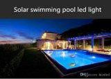 Éclairage LED de flottement coloré solaire romantique extérieur de l'éclairage LED RVB de piscine IP68