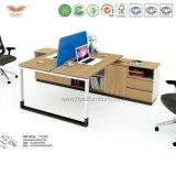 Самомоднейшая рабочая станция офисной мебели модульная деревянная (H90-0215)