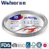 Food를 위한 돋을새김된 Aluminium Foil Tray/Aluminum Foil Container