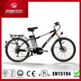 """26"""" 36V MTB litio bicicleta eléctrica de la ciudad con la certificación EN15194"""