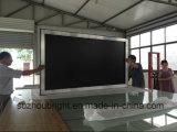 Проекция экрана экрана репроектора фикчированной рамки фикчированная