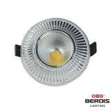 亜鉛合金フレームおよびダイカストで形造る脱熱器が付いている7W LED Downlight
