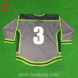 100% Polyester Broderie Custom Name / Number Ice Hockey Shirts