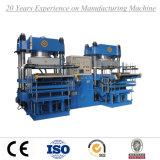 Doppelte Arbeitsplatz-automatische hydraulische Gummivulkanisierenpresse-Maschine
