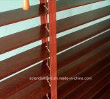A zebra cega de madeira das cortinas de indicador cega a tela das cortinas de rolo (SGD-Blind-1069)