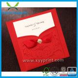 Kaart van de Uitnodiging van het Huwelijk van de Luxe van de Douane van de fabriek de Romantische