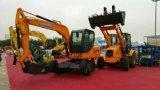 Excavador hidráulico de la rueda del excavador y excavador con después de servicio de venta, excavador caliente de la correa eslabonada de la venta