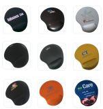 多彩なロゴの印刷のケイ素のゲルの手首サポートマウスパッド