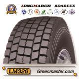 Neumático 12.00r20 12.00r24 315/80r22.5 385/65r22.5 del neumático TBR del carro de Longmarch