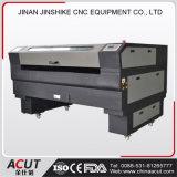 Precio de madera de la cortadora del laser del corte del PVC