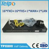 Adaptador analogico ATA del teléfono de VoIP del precio bajo de los superventas