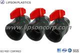 Vávulas de bola del PVC de la alta calidad de Lipson Ebm