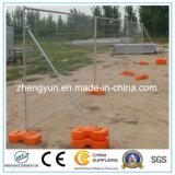 China suministra la cerca temporal de la alta calidad/la cerca del metal