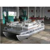 18 piedi della sezione comandi concentrare di barca di alluminio dei pontoni
