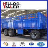 3개의 차축 30 톤 평상형 트레일러 견인봉 가득 차있는 트레일러