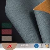 Os fabricantes que vendem da descoloração de couro do plutônio do PVC do couro do couro artificial da alta qualidade a quantidade de couro do plutônio são com Preferen