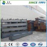 Magazzino prefabbricato della struttura d'acciaio di basso costo