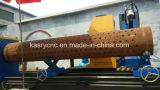China-Stahlrohr CNC-Plasma-/Flame-Ausschnitt-Bohrung-kerbende Maschine