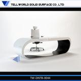 Vector blanco del ordenador del escritorio de oficina de los muebles caseros modernos calientes de la venta 2014