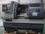 Tornio di giro orizzontale Ck6140A di CNC della base piana della macchina del tornio del metallo di CNC